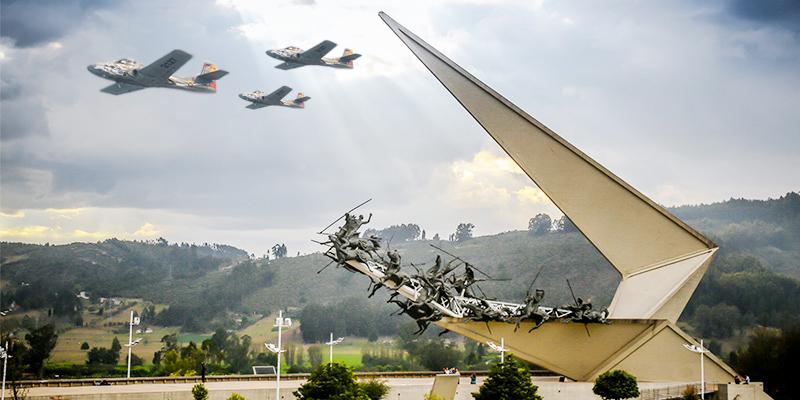 Monumento en Pantano de Vargas