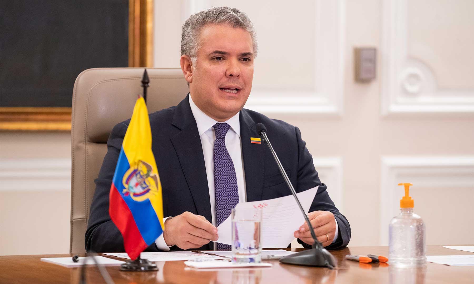presidente Colombia