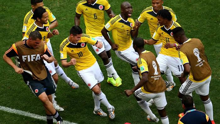 mejores goles de la selección de colombiana