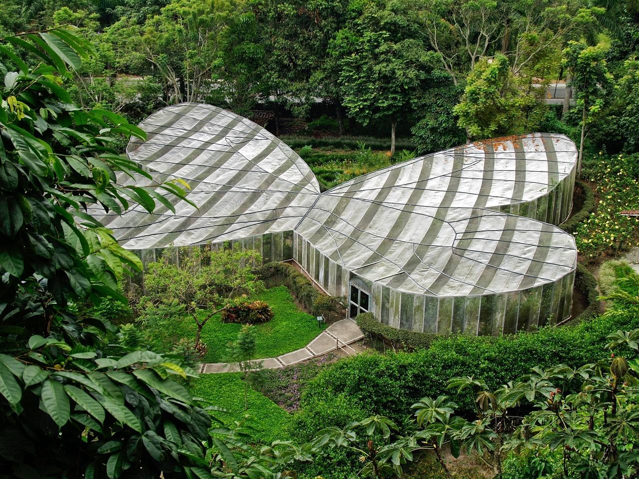 Mariposario en el Jardín Botánico del Quindio