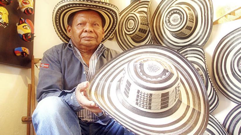Producción del Sombrero Vueltiao