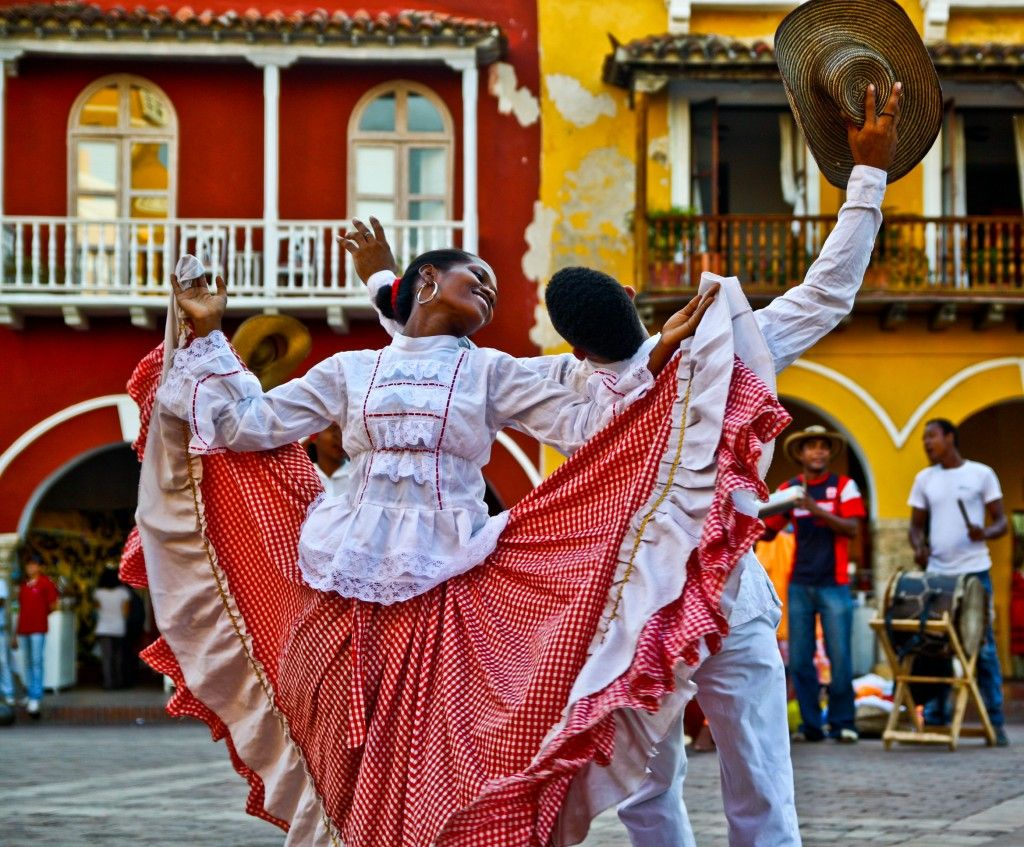 Cumbia colombiana. Foto: co.pinterest.com