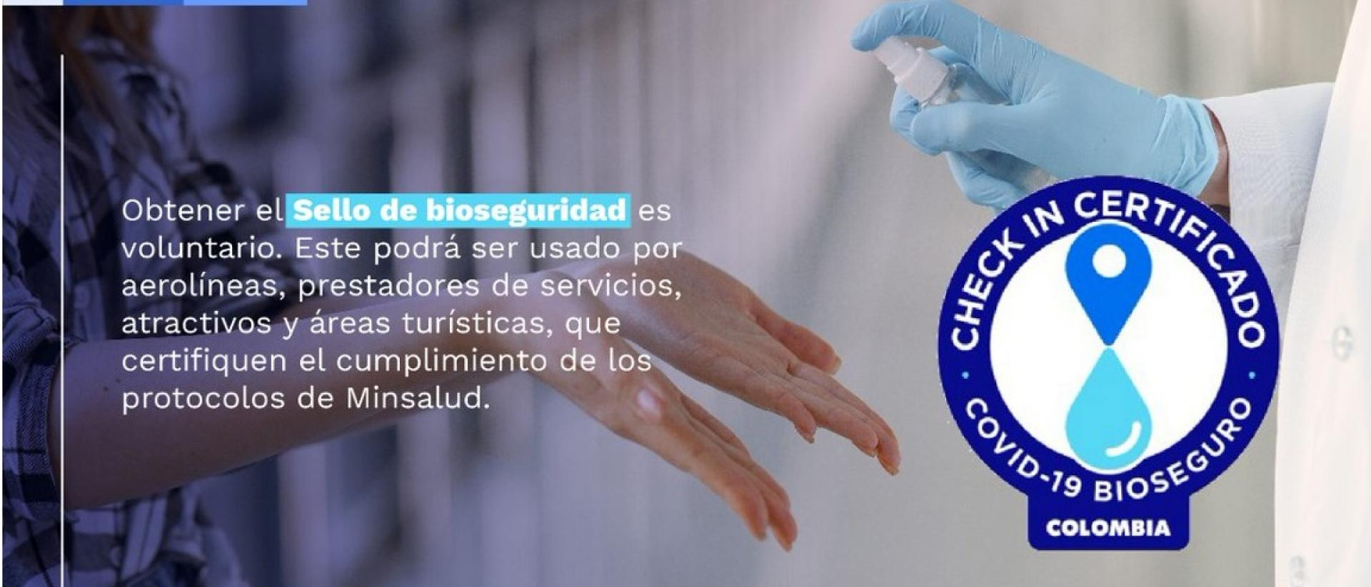 sello de bioseguridad